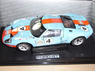 FORD GT 40 DECORACION GULF #4 24H DE LEMANS MINICHAMPS 1/18 RARE