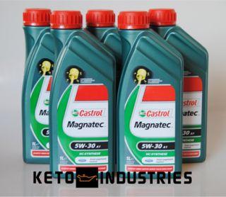 Castrol Magnatec bietet selbst bei hoher Motorenbelastung eine gute