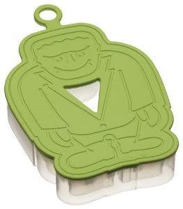 3D Halloween Green Monster Biscuit Pastry Cookie Cutter