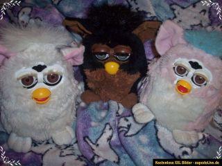 Original Furby 1. Generation von Hasbro TIGER ELECTRONICS 1998 Braun