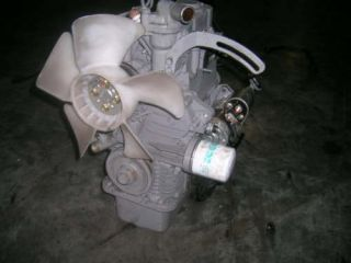 Kubota Diesel Motor z 602