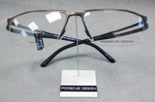 PORSCHE DESIGN Brille P8154 col A grau braun TITAN