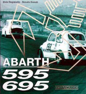 Abarth 595 / 695 (Fiat Carlo SS esse esse esseesse) Buch book libro