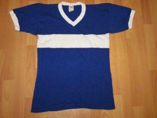 Leuze Dress Trikot Jersey Camiseta Maglia T Shirt Vintage Blau