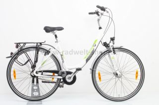 Damen Cityrad Pegasus Piazza 7 Gang, weiß, 50 cm UVP 599€*