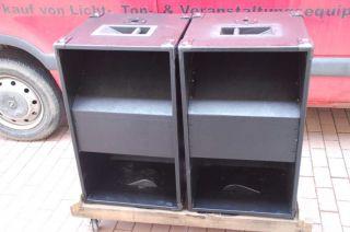 2x PA Subwoofer Bassbox Bass Sub Lautsprecher 15 300 Watt RMS 8 Ohm