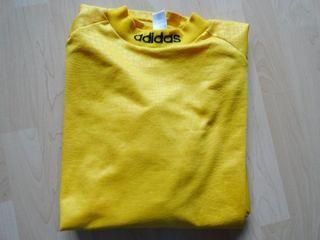 ADIDAS Herren Sport T Shirt / Torwart Shirt Nr.1 Gr. XL gelb