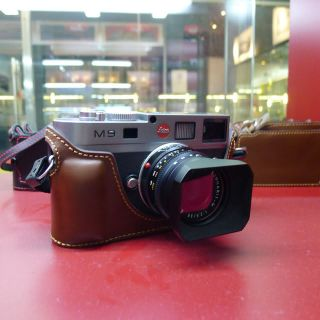 New Arrival Leather Camera Half Case Bag For Leica M8 M9 M9P M9 P