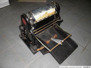 Antike Vervielfältigungsmaschine Roto  & Debego Werke Kopiergerät