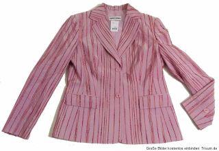 Gerry Weber ° Luxus Blazer ° Streifen ° rosa ° Gr.38 ° NeuW