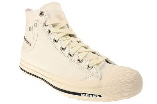 Diesel MAGNETE EXPOSURE   Herren Schuhe Sneaker Chucks   White 00Y833