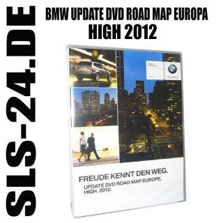 BMW DVD Europa Europe Road Map High 2012 Update Software MK4 MK 4