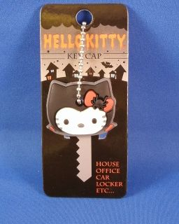 Hello Kitty Vampire Kitty with Spider Bow Key Cap Cover Chain LF