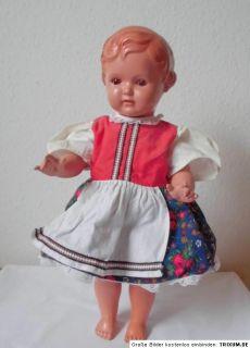 Alte Original Celluloid Schildkröt Erika mit roten Haaren