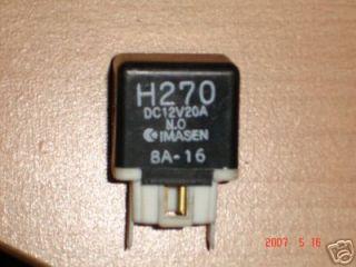 Relais H270 Mazda, 323, 626, MX 5, MPV, Premacy, Ford