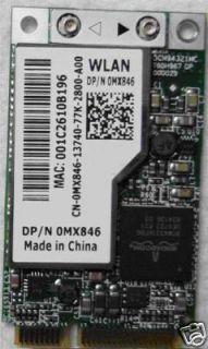 Dell Wireless WLan N Draft D620 D630 D520 D820 D830