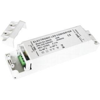 1W 50W LED Trafo AC 230V 0,42A   DC 12V 4,2A LED Driver