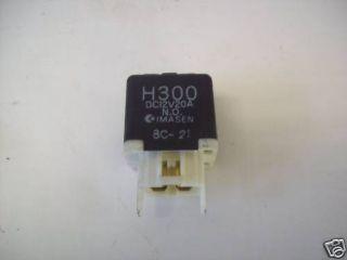 626 GD 2,0 Relais Relays H 300 DC 12V 20 A