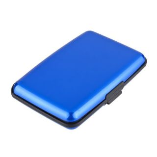 Color Waterproof Business ID Credit Card Wallet Holder Aluminum