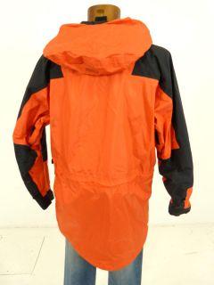 THE NORTH FACE OUTDOOR JACKE orange schwarz Gr. L   GORE TEX /ZW627