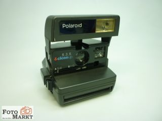 Polaroid 636 close up Sofortbildkamera 650 Land Camera