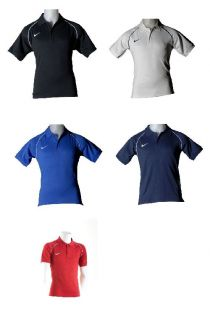 Nike Team Polo Shirt Fußball Poloshirt Tennis Freizeitshirt Sport
