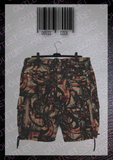ORIGINAL   BALMAIN   GRAFFITI BERMUDA SHORTS   34   NEW   DECARNIN
