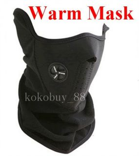 AG645 Neoprene Half Face Mask Motorcycle Cycling Sport