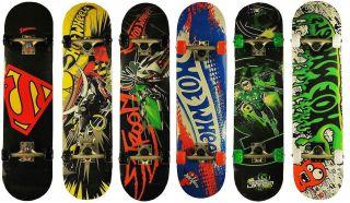 Skateboard Hot Wheels Batman Superman Green Lantern ABEC 5 Lager
