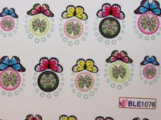 Nail Art Sticker Tattoo One Stroke BLE 1076