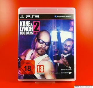 Kane & Lynch 2  Dog Days   wie neu   dt. Version   PS3 Spiel