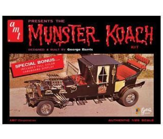 AMT 647 THE MUNSTERS KOACH 1/25 Scale Model Kit