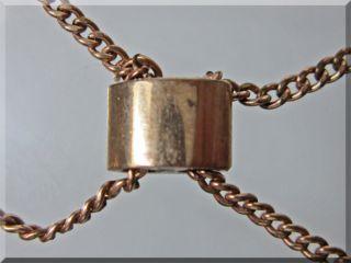 Co. Gold Filled PocketWatch Chain W/14K Slide