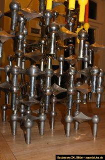 Nagel Kerzenständer 37 Stück + 1 Schale Panton Space Age Ära