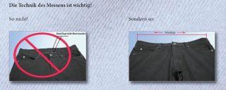 Designer Damen Jeans Hose Bootcut 34 50 + Übergrössen