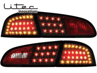 Seat Ibiza 6L LED Blinker Litec Rückleuchten schwarz