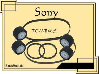 Sony TC WR665 S TCWR665S Service Kit Kassettendeck Cassette Tape Deck