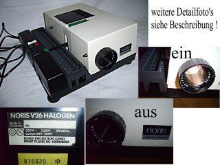Nachlass: NORIS DIA Projektor funktioniert !! etwas Nostalgie tut gut