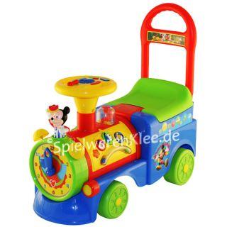 Mickey Mouse Clubhouse Rutscher Zug Rutschauto Micky Maus  Neu ohne
