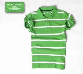Polo Poloshirt Shirt Gr.L (12 14   Young) Grüntöne TOP 671