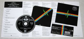 PINK FLOYD BBC SESSIONS DSOM LIVE 1974 MINI LP CD OBI