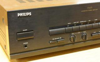 Philips FA 670   solider Verstärker, technisch ok.