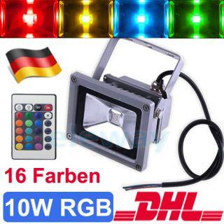 50W SMD LED Fluter Außen Strahler Scheinwerf Kaltweiss Flutlicht