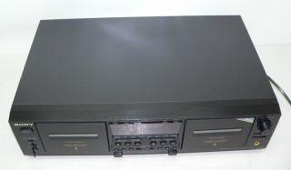 SONY TC WE 675 Stereo Cassette TAPE Deck Doppeltapedeck mit