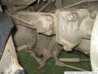 Ursus C45 Glühkopf Bulldog Scheunenfund original Patina wie 45PS Lanz