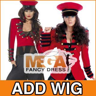 Damen Cheryl Cole Pop Star Soldaten Outfit Kostüm