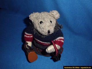 Teddybär mit Spieluhr zum aufziehen Alt? Dachbodenfund