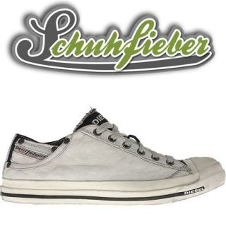 Diesel Magnete Exposure Low Men   Schuhe Sneaker   White/Black