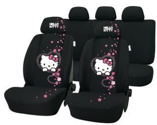 Auto Schonbezüge Hello Kitty Autositzbezug Schutzbezug Schonbezug Set