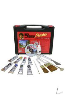 Bob Ross Master Set Masterset mit DVD Ölfarben Pinsel 4001128150192